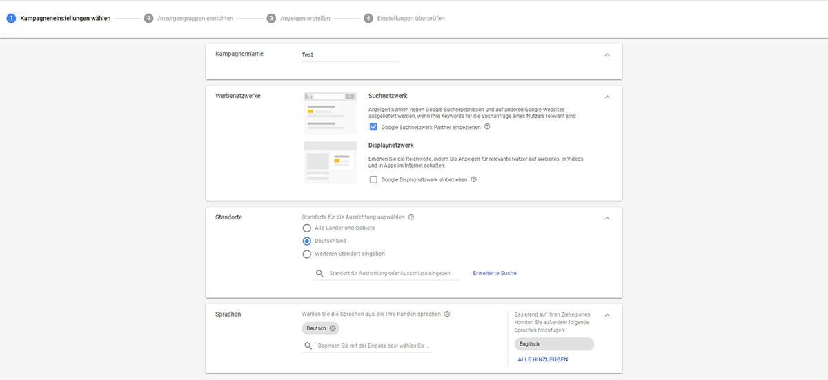 leadgenerierung_google-adwords_kampagneneinstellungen