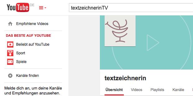 youtube-TextzeichnerinTV