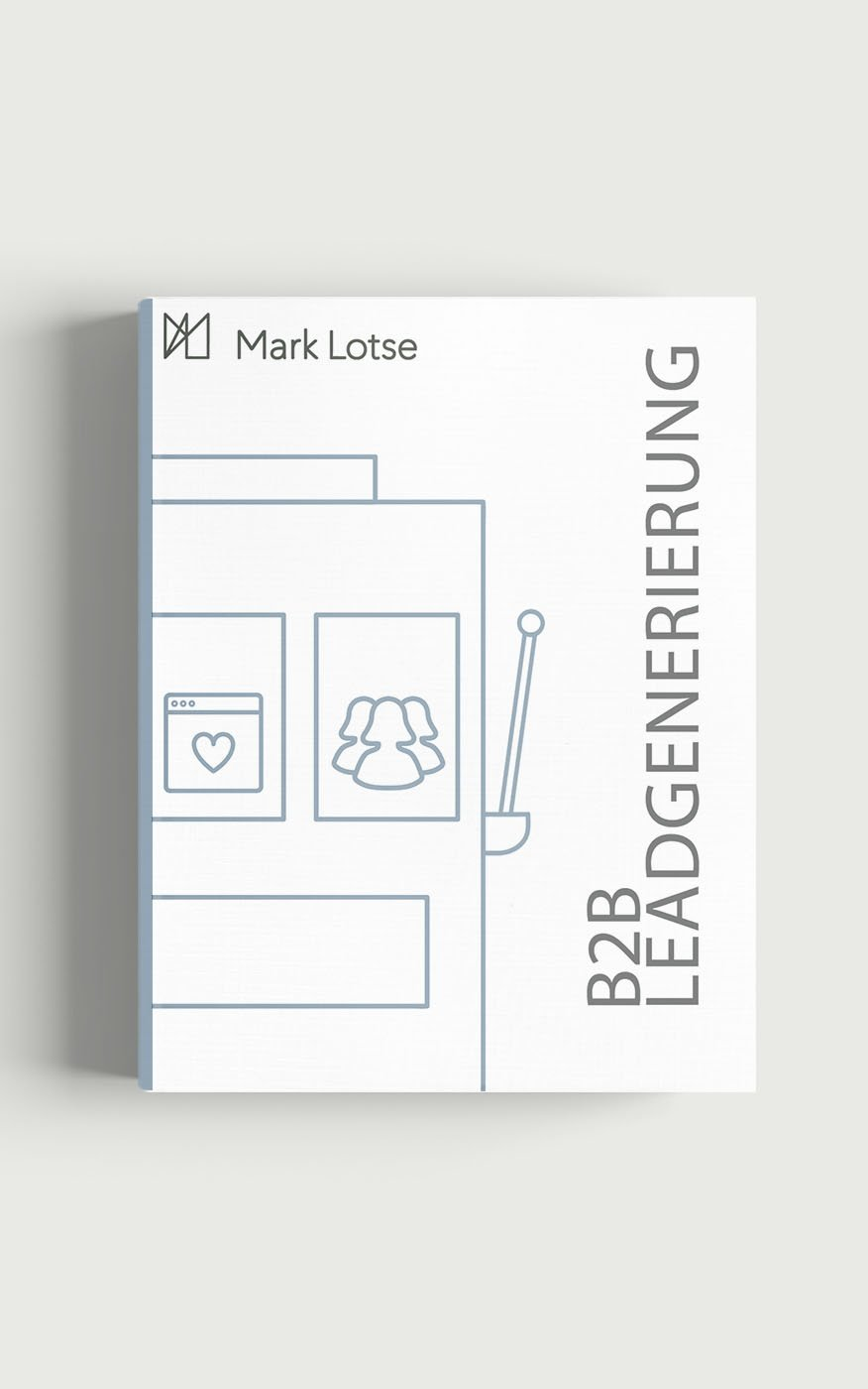 b2b Leadgenerierung mit Mark Lotse eBook
